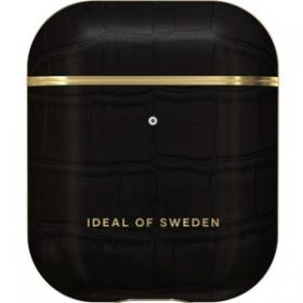 iDeal of Sweden iDeal Etui for Apple AirPods 1st & 2nd Gen - Black Croco