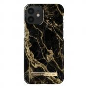 iDeal of Sweden IDeal Fashion iPhone 12 Mini deksel- Golden Smoke Marble