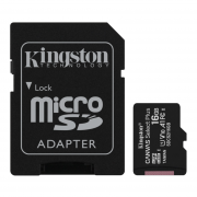 Kingston Kingston Canvas Select Plus MicroSD Adapter og Minnekort, 32GB