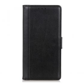 Taltech Smooth Wallet Etui for Samsung Galaxy Xcover 5 - Svart