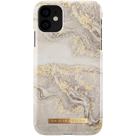 iDeal of Sweden iDeal Fashion Deksel for iPhone 11 - Sparkle Greige Marble