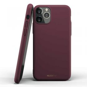 Nudient Nudient Thin Deksel for iPhone 11 Pro Max - Sangria Red