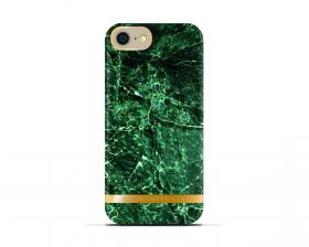Richmond Richmond & Finch Deksel for iPhone 6-6S-7-8 - Green Marble Glossy