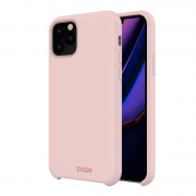 SiGN SiGN Liquid Silicone Case for iPhone 11 - Rosa
