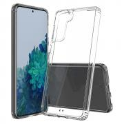 Taltech Crystal Clear Deksel for Samsung Galaxy S21 Plus - Transparent
