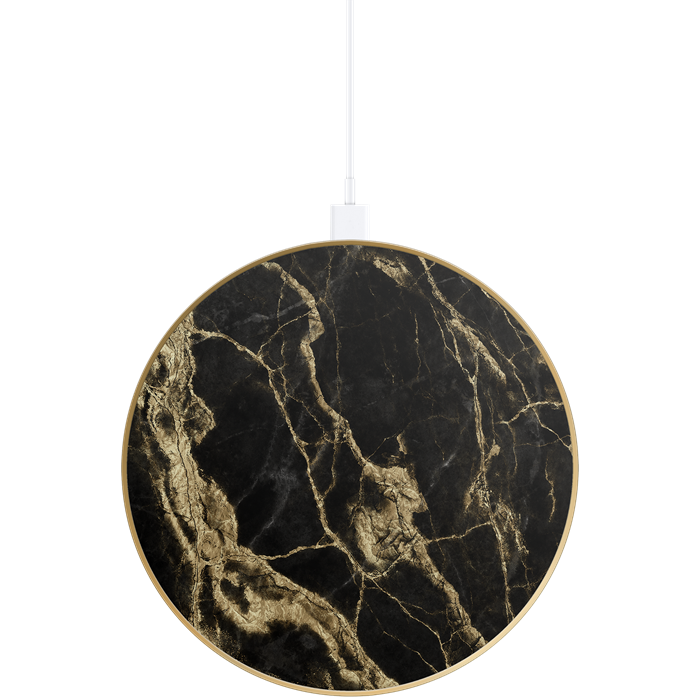 Fashion Power Bank Golden Smoke Marble | charging fra IDEAL